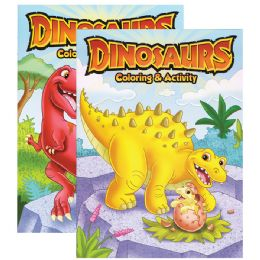 48 of Dinosaurs Coloring & Activity Book