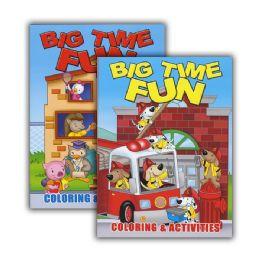 48 of Big Time Fun Coloring & Activity Book