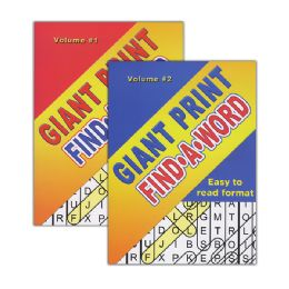 48 of Giant Print FinD-A-Word Puzzles Book