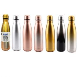 24 of Stainless Steel Double Walled Classic Edition Water Bottle Cup
