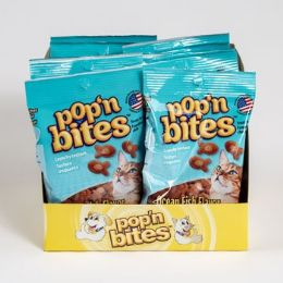 12 of Cat Treats Pop N Bites