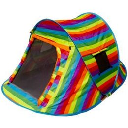 2 of Rainbow Pop Up Camping Tent