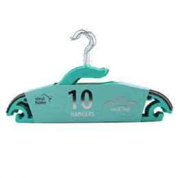 24 of 10 Pack Teal Clothes Hanger