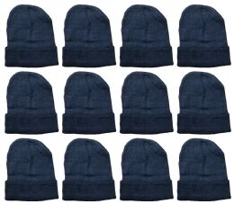 36 of Yacht And Smith Warm Winter Beanie Solid Black