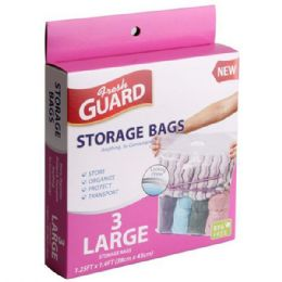 72 of 3 Pack Large Storage Bag