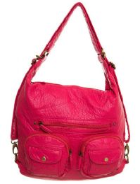 12 of Convertible Crossbody Backpack - Coral