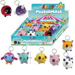 24 of Plushimals Key Chain Stuffed Animals