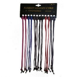 48 of Eyeglass Cord Laces Asstd Colors