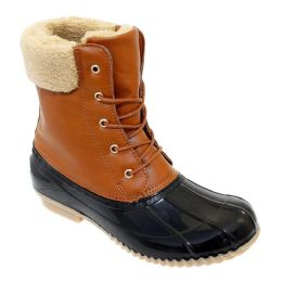 12 of Womens Duck Boot In Tan Brown