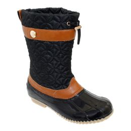 12 of Womens Duck Boot In Black