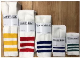 600 of Sock Pallet Deal Mix Of All New Tube Sock For Men Women Children