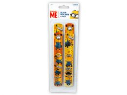 144 of Minions 4 Pack Slap Bracelets
