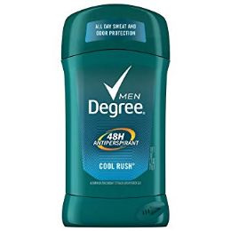 120 of Degree Cool Rush Deodorant Shipped By Pallet