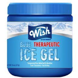 24 of Wish 8 Oz Vaporizing Ice Chest Rub