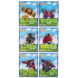 48 of Kite Mini Planes/insect Designs 6ast On 12pc Mdsgstrip/string 5m