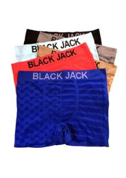 48 of Blackjack Men's Seamless Boxer Brief
