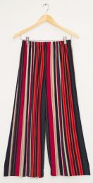 12 of Stripe Coulottes Multi Color Red
