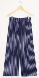 12 of Stripe Coulottes Multi Color Navy