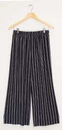 12 of Stripe Coulottes Multi Color Double Black