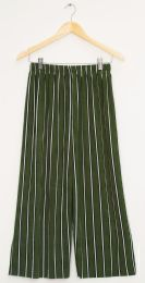 12 of Stripe Coulottes Multi Color Hunter Green