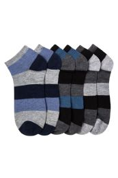 432 of Men's Spandex Ankle Socks Size 10-13
