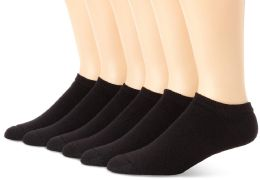 60 of Yacht & Smith Women's NO-Show Cotton Ankle Socks Size 9-11 Black Bulk Pack