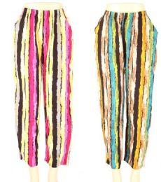 24 of Womens Fashion Striped Pants
