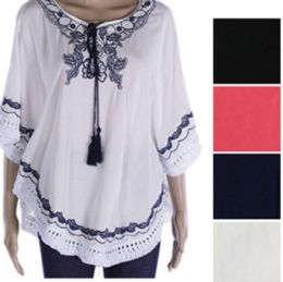 144 of Womens Fashion Summer Top With Tassel