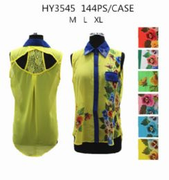 36 of Womens Fashion Summer Button Down Floral Shirt