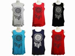 48 of Womens Assorted Color Tank Top