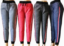 48 of Womens Winter Joggers With Stripe