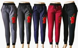 48 of Womens Winter Rose Joggers
