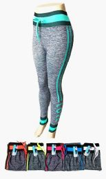 48 of Womens High Rise Slim Fitted Draw String Jogger Pants With Comfortable Stretch