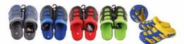 36 of Mens Closed Toe Sandal Assorted Colors And Sizes