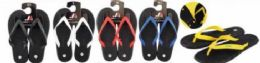 50 of Mens Flip Flops Packed Assorted Colors And Sizes With Retail Hang Tag