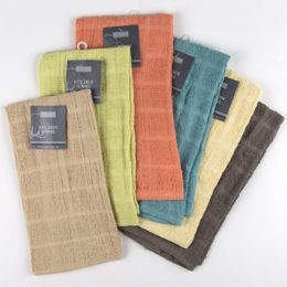 72 of Kitchen Towel 15x25 100% Cotton Assorted Colors