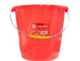 36 of Plastic Bucket 10x10 in Assorted Color