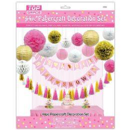 12 of Forty Four Piece Party Decoration Set