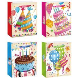 144 of Birthday Bag Glitter Large