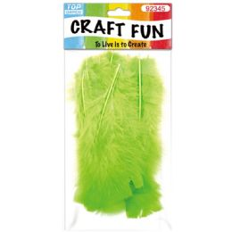 120 of Diy Feather Lime Green