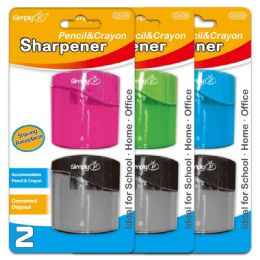96 of Two Pack Dual Sharpener