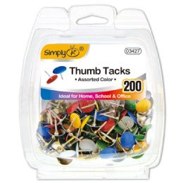 96 of Color Thumb Tack 200 Count