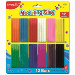 96 of Twelve Color Modeling Clay