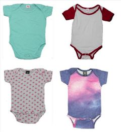 24 of Infant Onesies In White Size 0-6 Months