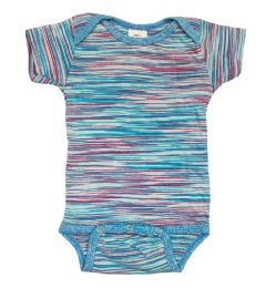 24 of Infant Assorted Stripes Onesie, Size M