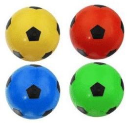 48 of 12 Inch Assorted Color Soccer Ball