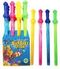 48 of 24 Inch Colorful Bubbles Sticks