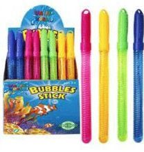 48 of 13.5 Inch Colorful Bubbles Sticks