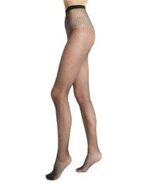 36 of Yacht & Smith Fishnet Pantyhose, High Waisted Mesh Stockings, Black, One Size