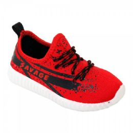 9 of Kids Blessed Jogger In Red And Black